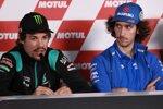Franco Morbidelli (Petronas Yamaha) und Alex Rins (Suzuki)