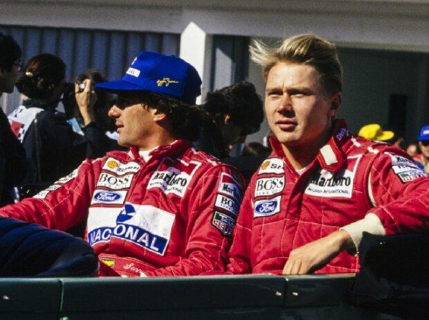 Ayrton Senna, Mika Häkkinen