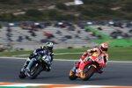 Marc Marquez (Honda) und Maverick Vinales (Yamaha)