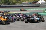 Robert Kubica (Williams), Daniil Kwjat (Toro Rosso) und Carlos Sainz (McLaren)