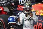 Pierre Gasly (Toro Rosso) und Lewis Hamilton (Mercedes)