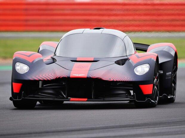 Aston Martin Valkyrie beim Debüt in Silverstone