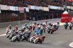 Moto2 Start in Valencia