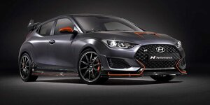 Hyundai Veloster N Performance Concept modifiziert