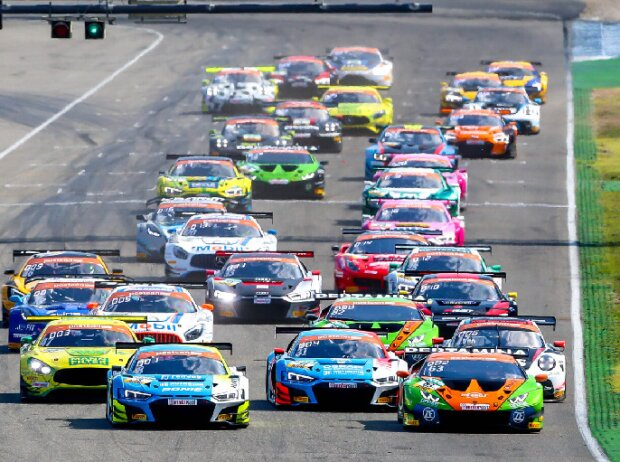 Start des GT-Masters 2019 in Hockenheim
