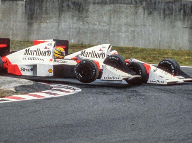 Ayrton Senna, Alain Prost, Suzuka, Grand Prix von Japan 1989
