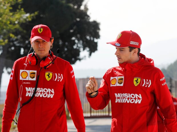 John Elkann, Charles Leclerc, Ferrari