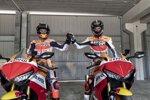 Jorge Lorenzo (Honda) und Alex Criville