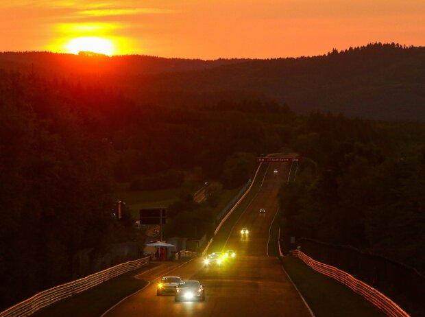Sonnenaufgang am Nürburgring