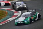 Marco Wittmann (RMG-BMW), Tomoki Nojiri und Rene Rast (Rosberg-Audi)