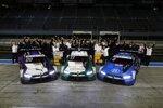 Jens Marquardt, Marco Wittmann (RMG-BMW) und Alessandro Zanardi