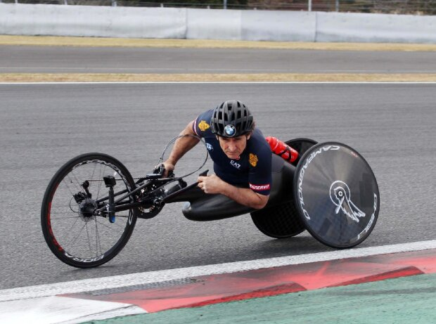 Alex Zanardi, Handbike, Paracycling