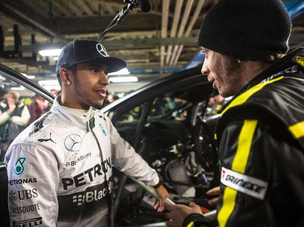 Valentino Rossi, Lewis Hamilton
