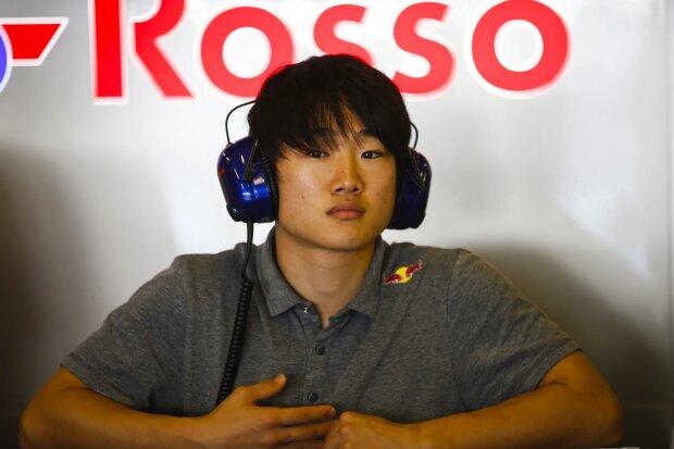 Yuki Tsunoda Toro Rosso Red Bull Toro Rosso Honda F1 ~Yuki Tsunoda ~