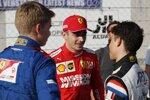 Nyck de Vries, Lewis Hamilton und Charles Leclerc