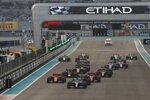 Lewis Hamilton (Mercedes), Max Verstappen (Red Bull), Charles Leclerc (Ferrari), Sebastian Vettel (Ferrari), Alexander Albon (Red Bull) und Lando Norris (McLaren)