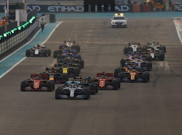 Lewis Hamilton, Max Verstappen, Sebastian Vettel, Charles Leclerc, Alexander Albon