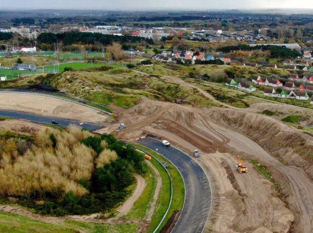 Bauarbeiten in Zandvoort