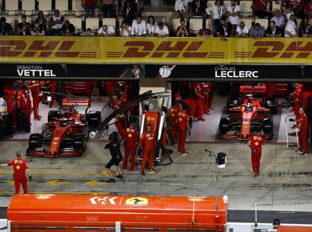 Sebastian Vettel, Charles Leclerc
