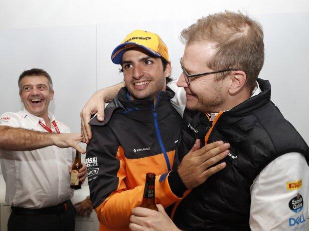 Carlos Sainz, Andreas Seidl