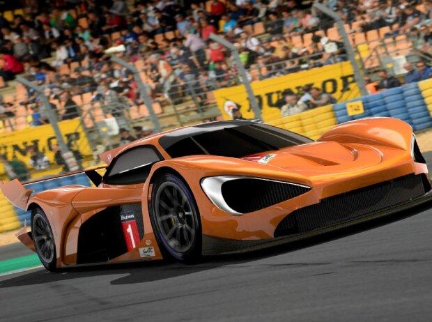 Hypercar-Studie von McLaren