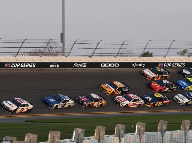 NASCAR-Titelsponsoren 2020 (Fotomontage)