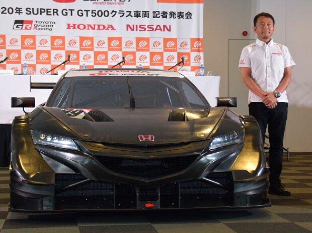 Hiroshi Shimizu, Honda NSX