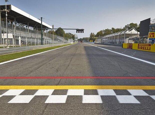 Monza Start Ziel Gerade