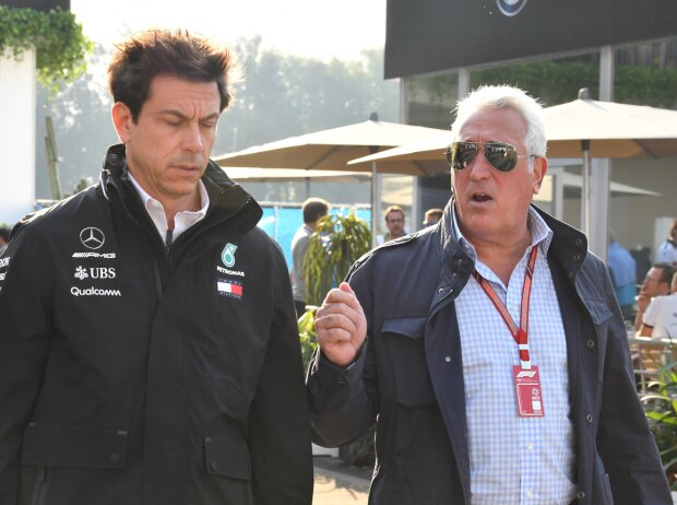 Toto Wolff und Lawrence Stroll