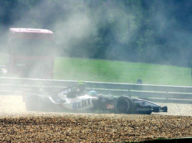 Chanoch Nissany, Grand Prix von Ungarn 2005