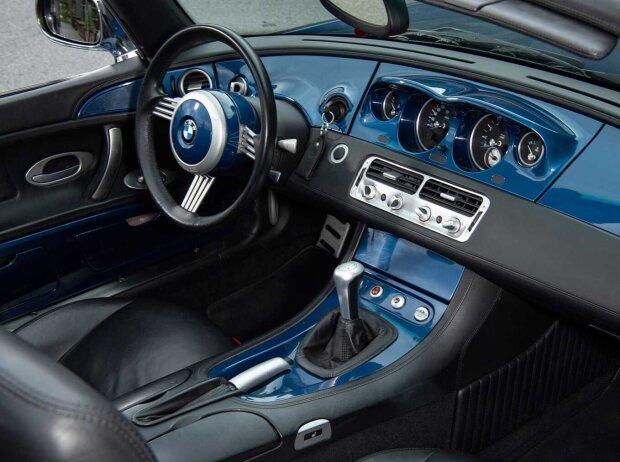 Innenraum und Cockpit des BMW Z8 (1999-2003)
