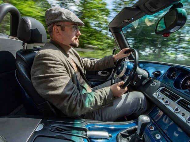 Roland Hildebrandt im BMW Z8