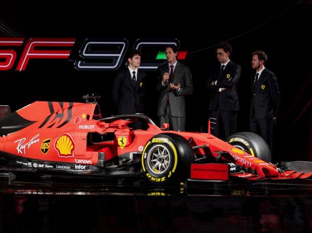 Präsentation Ferrari SF90