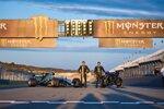 Valentino Rossi und Lewis Hamilton