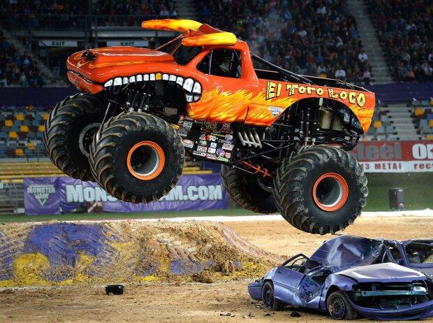 Monster Truck El Toro Loco bei einem Monster Jam Event