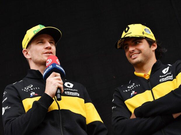 Nico Hülkenberg, Carlos Sainz