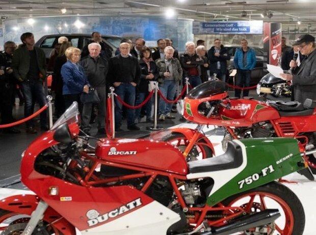Ducati-Sonderausstellung im AutoMuseum Volkswagen