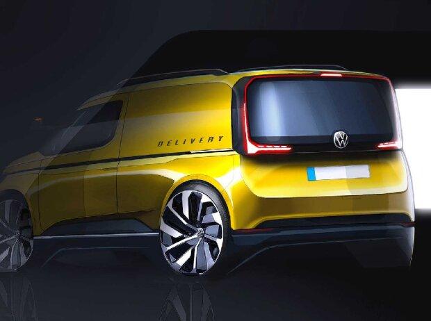 VW Caddy (2020) Teaser