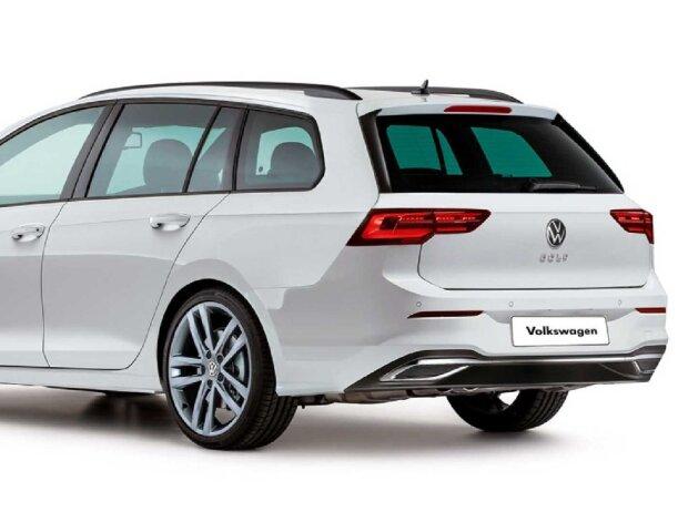 VW Golf Variant (2020) Rendering