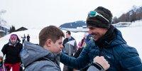 Laureus: Wiffzack Skitag in Seefeld mit Felix Gottwald