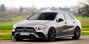 Mercedes-Benz A-Klasse Limousine: News, Gerüchte, Tests