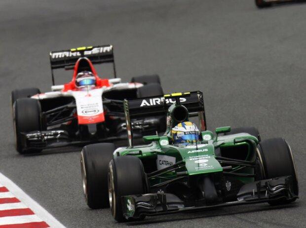 Marcus Ericsson, Max Chilton