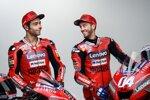 Andrea Dovizioso und Danilo Petrucci (Ducati)