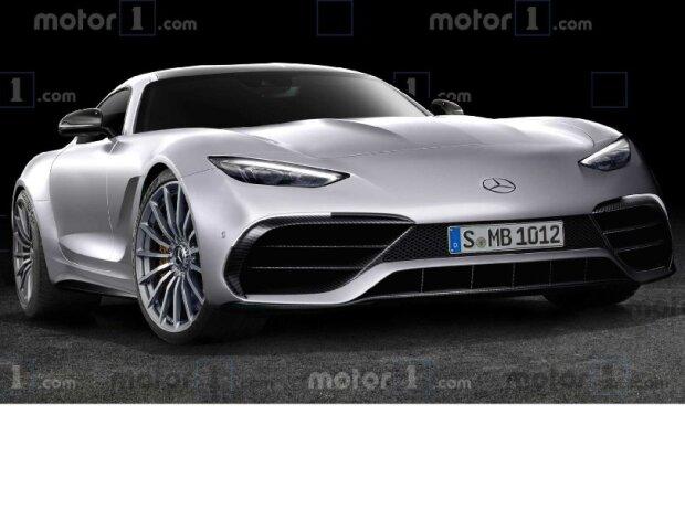Mercedes SL 2021 Rendering