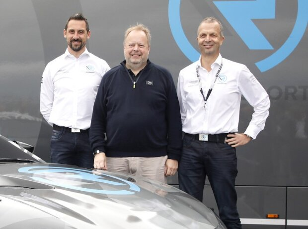 Andy Palmer, Florian Kamelger, Andreas Baenziger