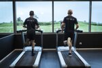 Eugene Laverty und Tom Sykes beim Training