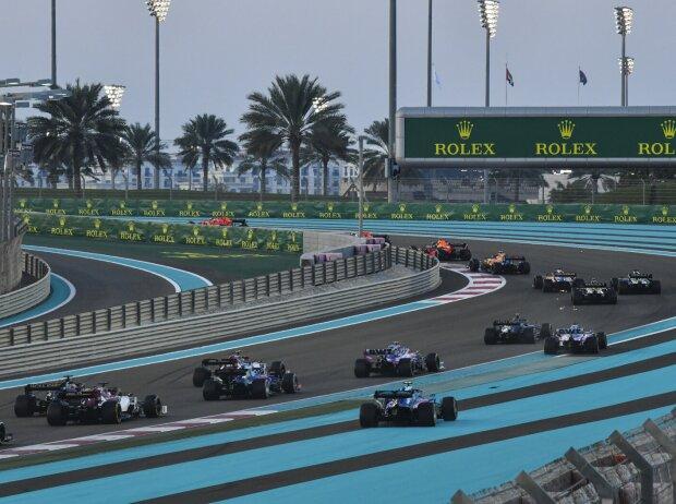 Alexander Albon, Lando Norris, Carlos Sainz, Daniel Ricciardo, Nico Hülkenberg
