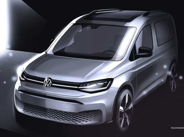 VW Caddy Sketch