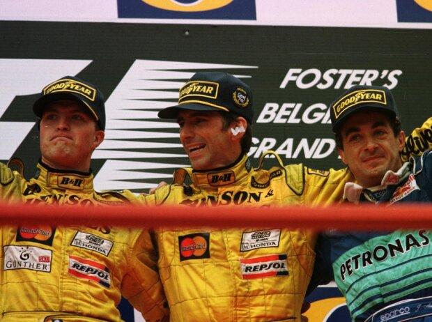 Ralf Schumacher, Jean Alesi