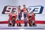 Marc Marquez und Alex Marquez (Honda)